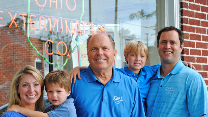 Andrew Christman, Tom Christman, two generations of family owned business